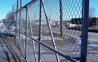 Clôture Avantage et Lévisienne, clôtures à Québec Clôture de maille commerciale galavanisé
