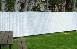 Clôture Avantage et Lévisienne, clôtures à Québec Frost blanche lattes blanches