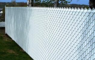 Clôture Avantage et Lévisienne, clôtures à Québec grillage etLattes blanche