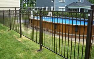 Clôture Avantage et Lévisienne, clôtures à Québec Clôture de piscine