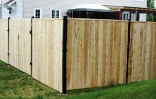 Clôture Avantage et Lévisienne, clôtures à Québec Clôture de cèdre