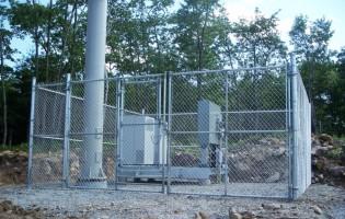 Clôture Avantage et Lévisienne, clôtures à Québec clôture frost 8' haut commerciale en nouvelle-écosse
