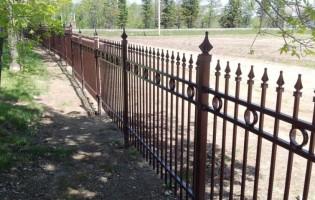 Clôture Avantage et Lévisienne, clôtures à Québec Clôture de fer ornemental