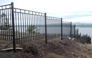 Clôture Avantage et Lévisienne, clôtures à Québec Clôture ornementale en aluminium