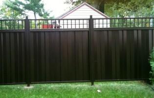 Clôture Avantage et Lévisienne, clôtures à Québec Intimité en acier