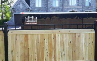 Clôture Avantage et Lévisienne, clôtures à Québec pub