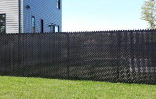 Clôture Avantage et Lévisienne, clôtures à Québec Frost 5' noir avec lattes