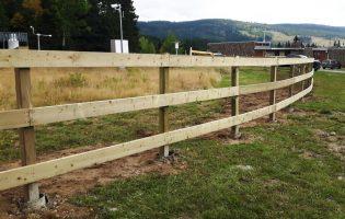 Clôture Avantage et Lévisienne, clôtures à Québec clôture de champs