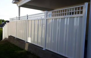 Clôture Avantage et Lévisienne, clôtures à Québec Acier série 4000