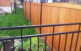 Clôture Avantage et Lévisienne, clôtures à Québec Cèdre blanc