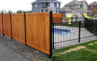 Clôture Avantage et Lévisienne, clôtures à Québec Cèdre embouveté intimité
