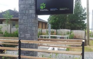 Clôture Avantage et Lévisienne, clôtures à Québec Rampe en cèdre blanc