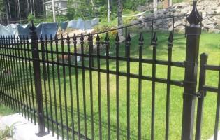 Clôture Avantage et Lévisienne, clôtures à Québec Modèle London