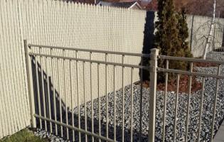 Clôture Avantage et Lévisienne, clôtures à Québec Clôture Frost taupe