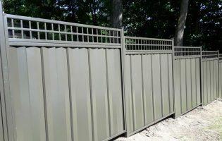 Clôture Avantage et Lévisienne, clôtures à Québec clôture en acier avec treillis