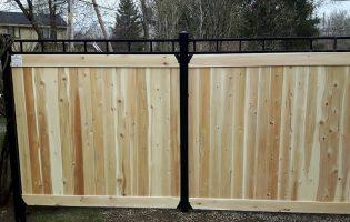 Clôture Avantage et Lévisienne, clôtures à Québec Tête contemporaine