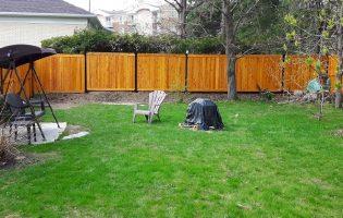 Clôture Avantage et Lévisienne, clôtures à Québec Teinture sikken