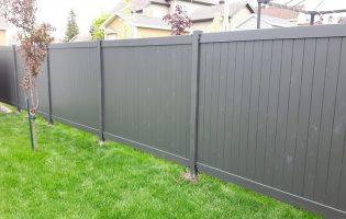 Clôture Avantage et Lévisienne, clôtures à Québec Teinture de qualité