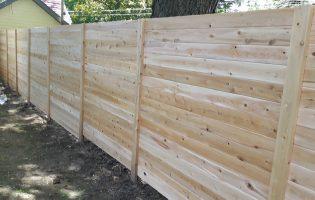 Clôture Avantage et Lévisienne, clôtures à Québec Embouveté horizontale