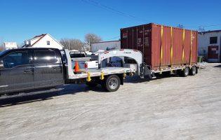 Clôture Avantage et Lévisienne, clôtures à Québec transport lourd