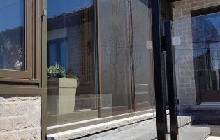 Clôture Avantage et Lévisienne, clôtures à Québec Verre coupé en escalier
