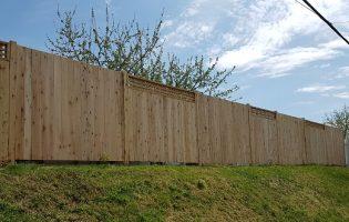 Clôture Avantage et Lévisienne, clôtures à Québec Palissade avec treillis