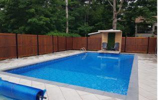 Clôture Avantage et Lévisienne, clôtures à Québec Intimité de piscine