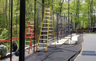 Clôture Avantage et Lévisienne, clôtures à Québec Terrain de tennis