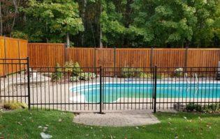 Clôture Avantage et Lévisienne, clôtures à Québec Contour de piscine