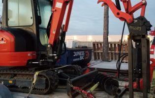 Clôture Avantage et Lévisienne, clôtures à Québec Machinerie lourde pour du commercial