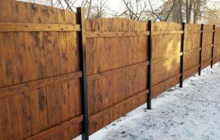Clôture Avantage et Lévisienne, clôtures à Québec 2 ième côté du modèle