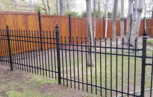 Clôture Avantage et Lévisienne, clôtures à Québec Ornemental